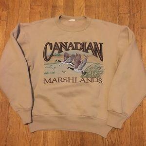 Vintage Canadian Marshlands Sweatshirt